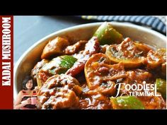 Best Kadai Mushroom made with my Homemade Kadai Masala Powder will give you better taste than the restaurants. This Kadai Mushroom gravy comes with tips, video & steps.