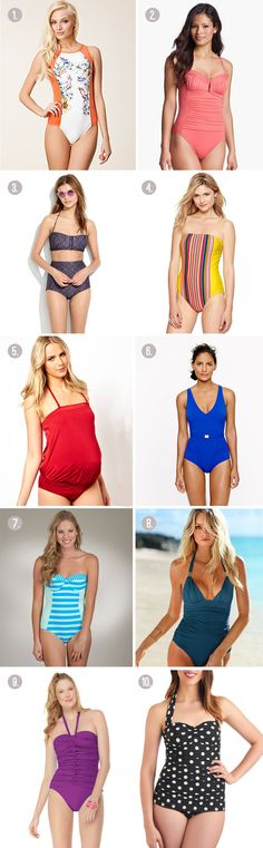 SUMMER FAVORITES :: 9 best mom-friendly swimsuits - Henry Happened