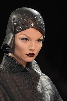 Dior haute couture, Fall 2008. Model: Magdalena Frackowiak.