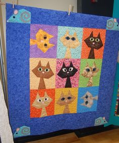 Kitty cat quilt!