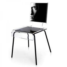 Envie de modifier son intérieur, d'y apporter une touche chic, raffinée, lumineuse et changeante...cette chaise homme est faite pour vous