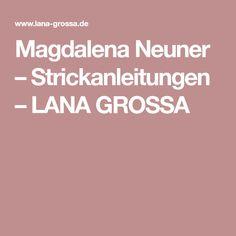 Magdalena Neuner – Strickanleitungen – LANA GROSSA Handarbeit, Breien, Fox