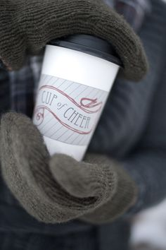 printable coffee cup sleeve [ of course this would work for tea,too :-) ] from b*spoke on twig and thistle