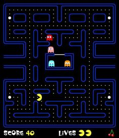 Play the Original Pacman Game Online For Free: Flash Pacman Pac Man, 90s Games, Arcade Games, Games To Play, Pacman Games, Original Pacman, Retro Video Games, Retro Games, Vintage Games