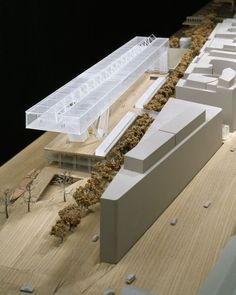 Paris Entertainment Center | Grafton Architects | Model: Stephen Quinn | Scale: 1.500