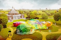 Serpentine Pavillion 2015: A technicolour dream (houseandgarden.co.uk)