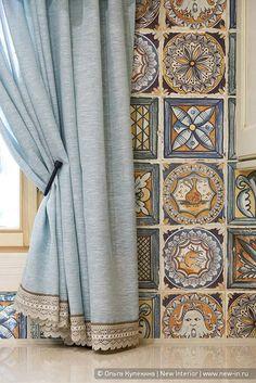 Загородный дом HONKA-детали и особенности. Scarf Curtains, Cute Curtains, Ikea Curtains, Drop Cloth Curtains, Modern Curtains, Curtains With Blinds, Crochet Curtains, Moroccan Room, Interior Desing