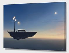"""""""Private Party"""", Numbered Edition Canvas Print by Alex Andreev - From $89.00 - Curioos"""