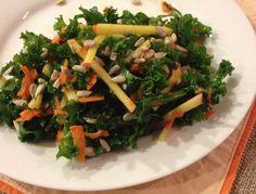 Kale Apple Carrot Slaw - Yummers!!