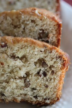 Tortillas and Honey: Cream Cheese Banana Nut Bread