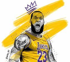 Lebron James Poster, King Lebron James, Lebron James Lakers, King James, Mvp Basketball, Basketball Photos, Basketball Design, Lakers Wallpaper, Lebron James Wallpapers