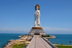 Hainan: Guanyin Statue (海南南山海上观音像)