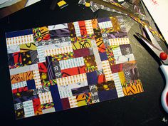 paper quilt by hahawtf on Flickr.
