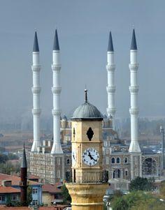 Clock Tower & Mosque, Corum, Turkey