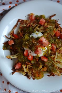 Oven-Baked Mexican Hash Browns   Faith, Hope, Love, and Luck Survive Despite a Whiskered Accomplice