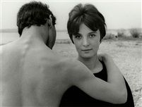 GERMANY. Bavaria. 1958. Couple at Lake Ammersee. by Herbert List