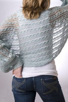 Put on the Glitz Shrug showcasing Tilli Tomas Symphony Kid Lace with Beads & Glitter color Surf