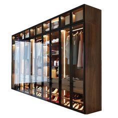Wardrobe Room, Wooden Wardrobe, Wardrobe Design Bedroom, Diy Wardrobe, Bedroom Bed Design, Home Room Design, Home Interior Design, Bedroom Decor, Glass Wardrobe Doors