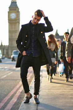 Cool denim shirt and coat