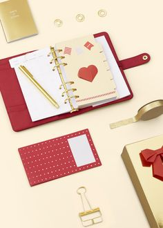 Celebrate Chinese New Year with this gorgeous Limited Edition red planner