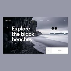 Travel Website Design by . Want more creative inspiration? Best Website Design, Travel Website Design, Website Header Design, Website Designs, Travel Design, Web Design Studio, Web Ui Design, Grid Design, Brochure Design