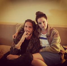 Emile Haynie and Lana Del Rey