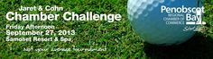 The 2013 Jaret & Cohn Chamber Challenge Golf Tournament will take place Friday, Sept. 27th, at the Samoset Resort.