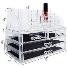 Ikee Design Acrylic Jewelry & Cosmetic Storage Display Bo... https://www.amazon.com.mx/dp/B00DUJEWDE/ref=cm_sw_r_pi_dp_x_vzA0zb6XYFPS6