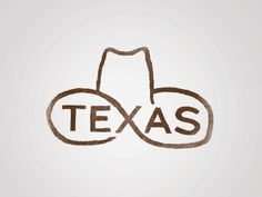 #Inspiring_Design | #Texas Forever | By Jay B Sauceda on Dribble | A+ for originality.