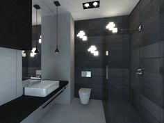 Pracownia Symetria _ Elegancka łazienka