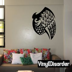 Wings Wall Decal - Vinyl Decal - Car Decal - DC12123