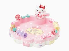 Hello Kitty Jewelry Storage Tray Jewelry Dish Strawberry SANRIO JAPAN-01