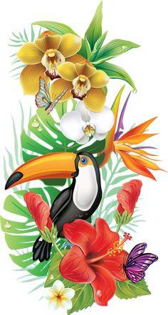 luxury cars - Photo from album Тропические on Yandex Disk Exotic Flowers, Tropical Flowers, Art Tropical, Tropical Paintings, Diamond Art, Art Floral, Bird Art, Flower Art, Illustration