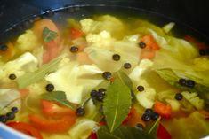 Israeli Style Hamutzim (Pickled Vegetables)