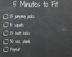 5 min to fit