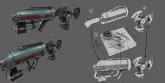 The Skyhook returns to Bioshock Infinite's Burial at Sea DLC. This concept art shows how the hook is cobbled together from a vacuum cleaner and other odds and ends.