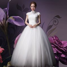 憶紅妝婚紗禮服新款2014夏季新娘結婚時尚雙肩複古蕾絲一字肩拖尾-tmall.com天貓