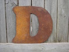 Distressed 3 foot tall wood letter d marquee style 36 inch for 3 foot tall letters