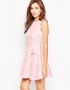French Connection Lickety Split Flare Dress