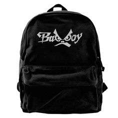 KIHOYG Bad Boy Logo Canvas Backpack Sale 50%. Now only   Backpack Travel Bag be0cc565bdab6