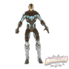 IRON MAN BLACK AND WHITE - 2013 Marvel Universe /// Marvelicious Toys - The Marvel Universe Toy & Collectibles Podcast