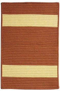 Cafe Milano Area Rug - Outdoor Rugs - Casual Rugs - Rugs | HomeDecorators.com - Navy and green
