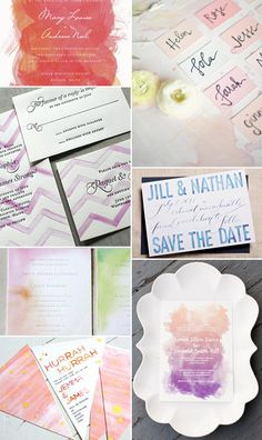 Watercolor Inspiration---Stationery