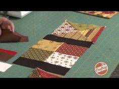 How To: Sashing Tips for Framing Your Quilt Blocks with Jenny Doan from Quilting Quickly - YouTube