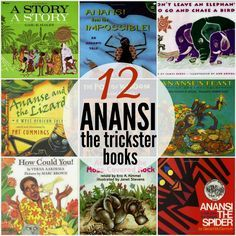 Marie's Pastiche: Anansi Stories - Trickster Tales from West Africa