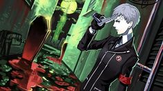 Persona 3 - Akihiko Sanada during the Dark Hour Persona 3 Portable, Atlus Games, Shin Megami Tensei Persona, Female Protagonist, Story Characters, 3 Arts, Beautiful Stories, Persona 5, Awesome Anime