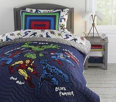 Marvel Heroes Quilt & Shams Avengers Room, Marvel Avengers, Marvel Comics, Marvel Heroes, Avengers Birthday, Marvel Bedding, Marvel Bedroom, Avengers Bedding, Kids Comforter Sets