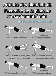 Exercice de la planche : les sept bienfaits incroyables pour votre corps. Quelles sont les variations de l'exercice de la planche ?