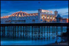 The fun zone at Brighton Beach Pier