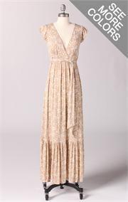 Love this long summer dress!